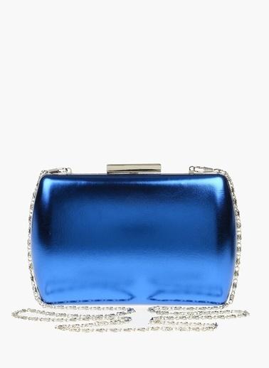 Divarese Clutch / El Çantası Mavi